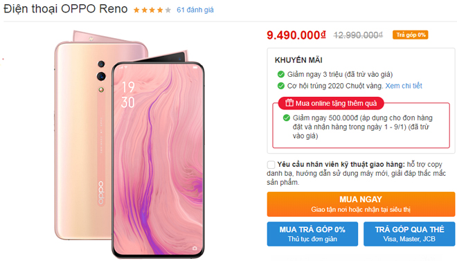 top smartphone android giam gia manh nhat, galaxy s10+ 512gb giam 10 trieu hinh anh 3