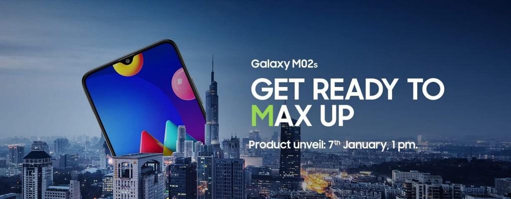Samsung Galaxy M02s giá rẻ ra mắt ngày 7/1  ảnh 1