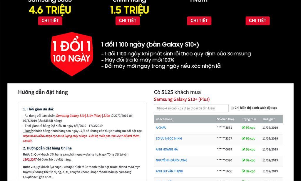 CellphoneS chính thức dừng đặt mua Galaxy S10/S10+ khi vượt hơn 5.000 suất  ảnh 2
