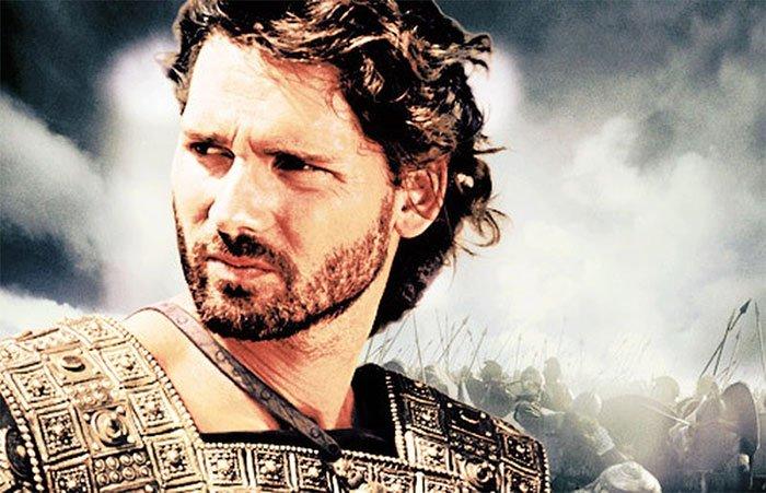 Hình tượng hoàng tử Hector trong bộ phim Troy năm 2004.