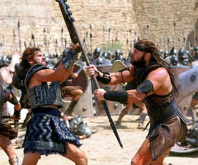 Hector có thể đánh bại bất cứ chiến binh Hy Lạp nào ngoại trừ Achilles.