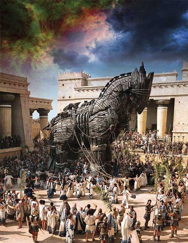 Cuộc chiến thành Troy được ghi nhận là sự kiện có thật trong lịch sử.