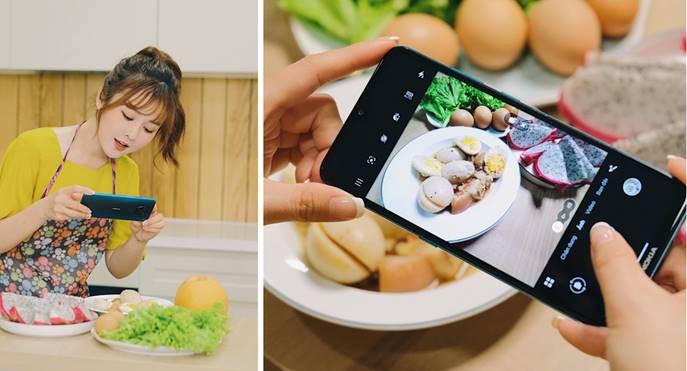 Nữ diễn viên xinh đẹp Midu và các đồng nghiệp đã ứng biến thế nào với Nokia 5.3 ảnh 4