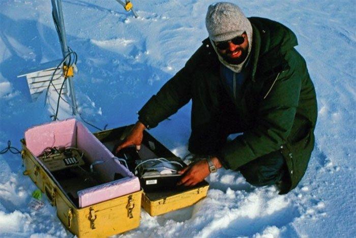 Mark Serreze đã nghiên cứu chỏm băng vào những năm 1980.