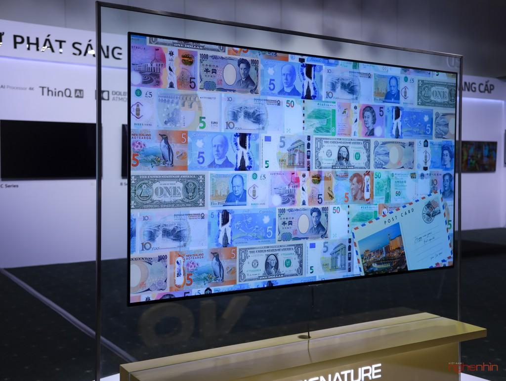 Đánh giá nhanh TV LG SIGNATURE OLED 8K đầu tiên và duy nhất trên thế giới giá 490 triệu  ảnh 4