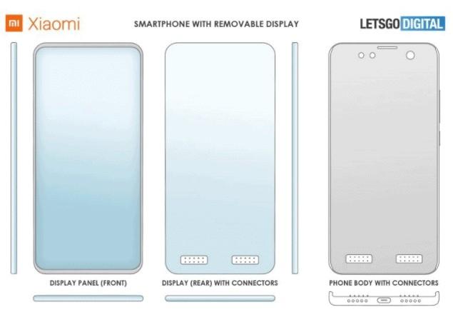 Xiaomi sẽ ra mắt điện thoại với màn hình có thể tháo rời? ảnh 1