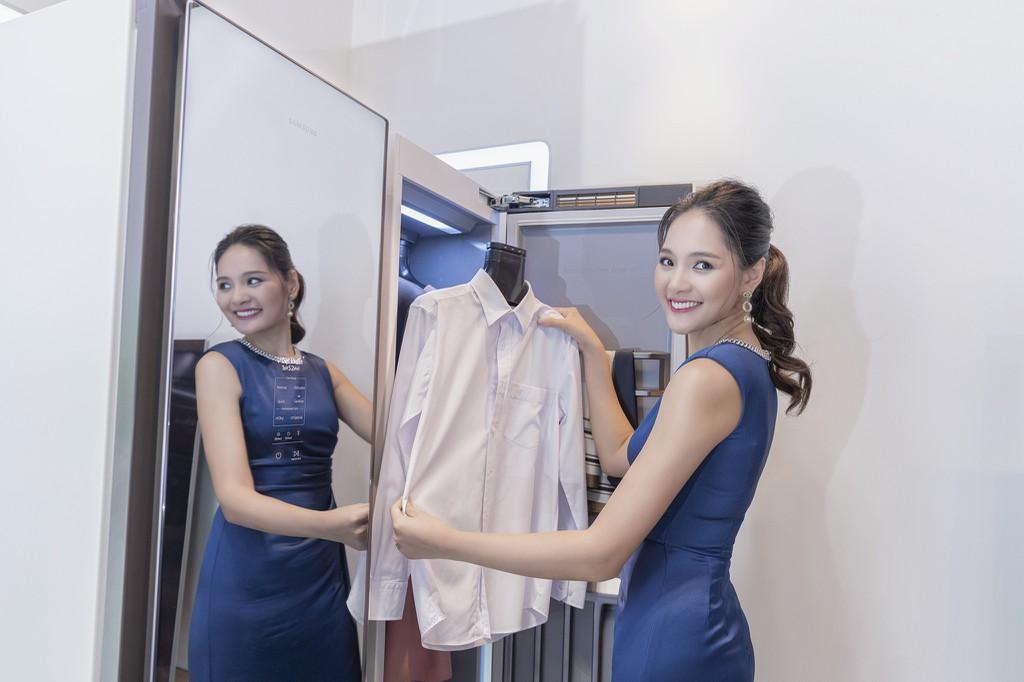 Samsung ra mắt tủ chăm sóc quần áo thông minh AirDresser giá 50 triệu ảnh 3