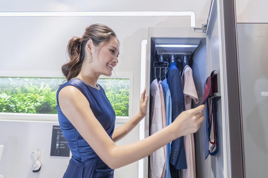 Samsung ra mắt tủ chăm sóc quần áo thông minh AirDresser giá 50 triệu ảnh 5