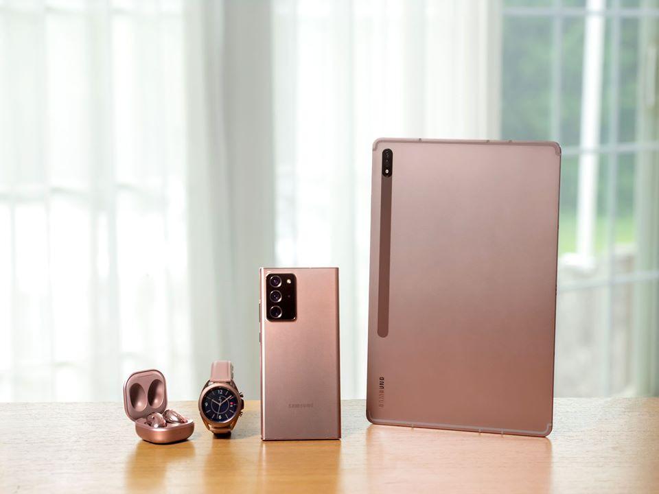 Ngắm Galaxy Note20 và những người bạn trong màu áo mới siêu đẹp, xem trực tiếp sự kiện ra mắt ảnh 1