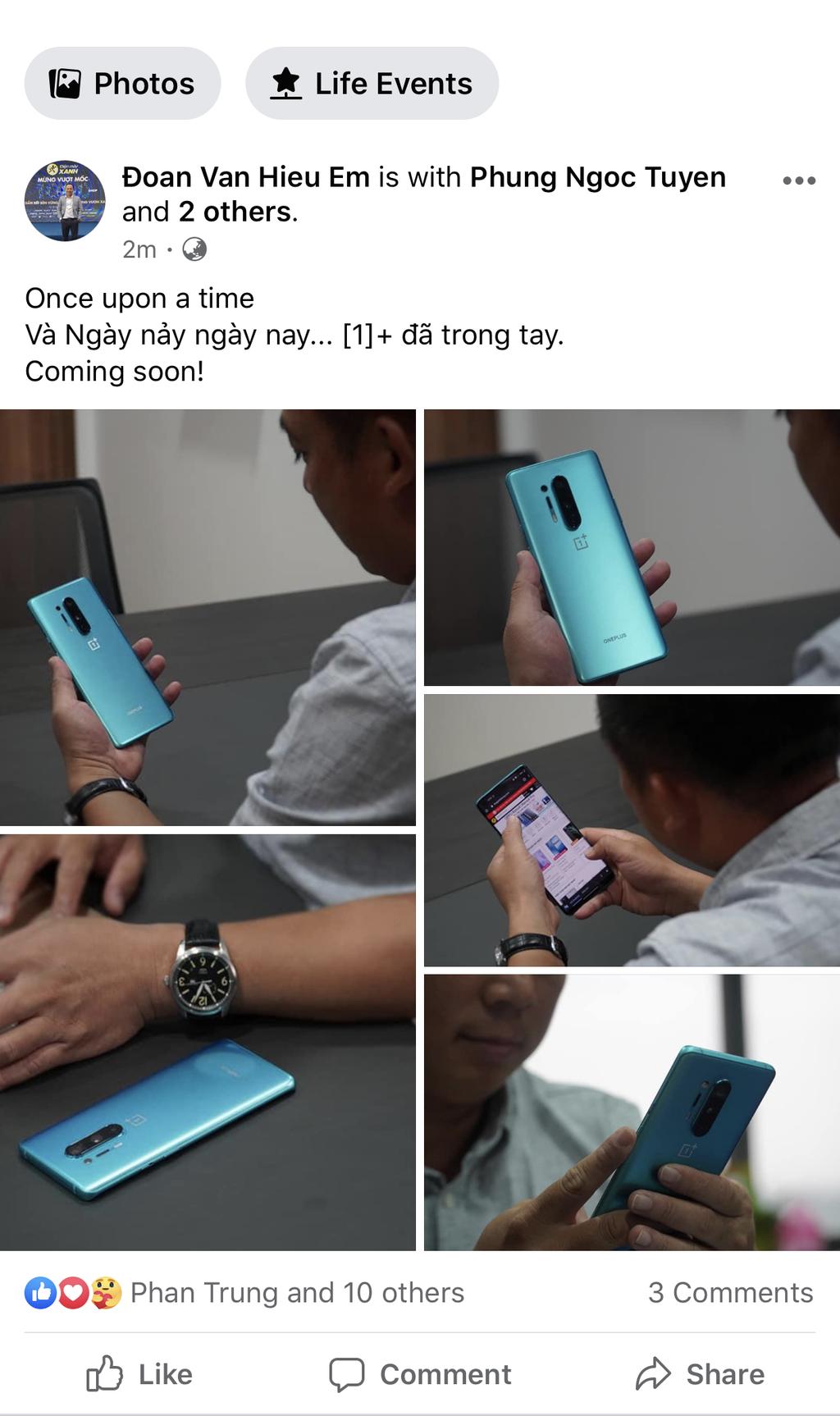 OnePlus 8 Pro bất ngờ xuất hiện tại Việt Nam, kẻ hủy diệt sắp trở lại ảnh 1