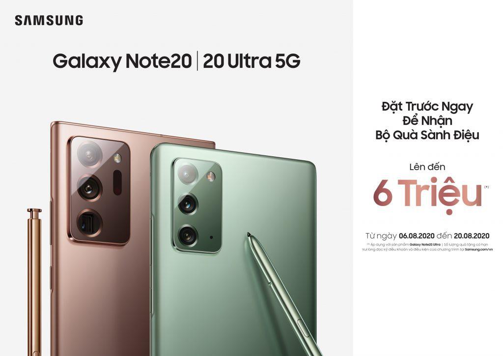 Galaxy Note20 series ra mắt tại Việt Nam: giá từ 24 triệu, quà 6 triệu, bán từ 21/8 ảnh 3