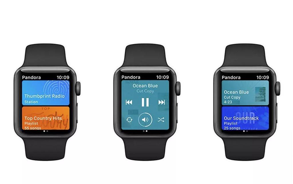 Pandora đã có ứng dụng chơi nhạc trên Apple Watch trước Spotify ảnh 1