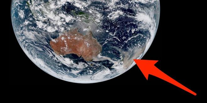 Australia đang phải trải qua thảm họa cháy rừng.