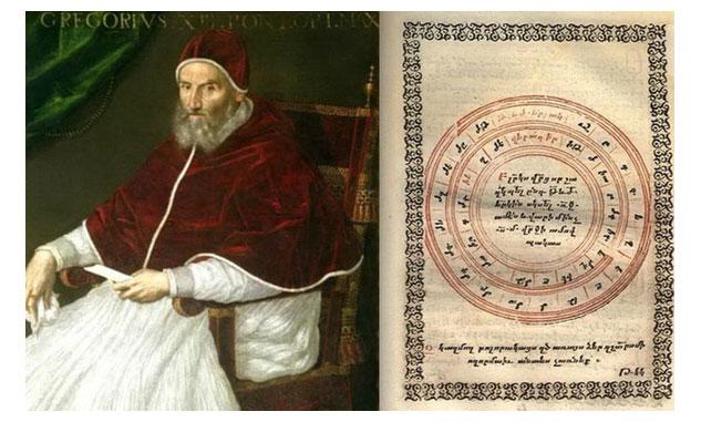 Giáo hoàng Gregory XIII và bản lịch chỉnh sửa năm 1582