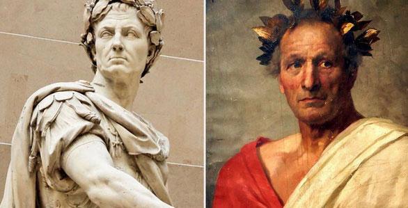Hoàng đế Julius Caesar, người có công áp dụng bộ lịch Julian được sử dụng rộng rãi ngày nay