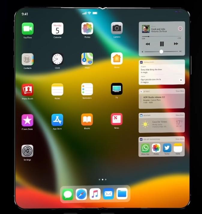 Hai nguyên mẫu iPhone màn hình gập vượt qua bài kiểm tra độ bền của Foxconn ảnh 1