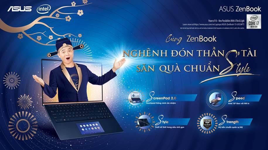 Asus tung khuyến mãi cho laptop ZenBook nhân dịp năm mới 2020 ảnh 1