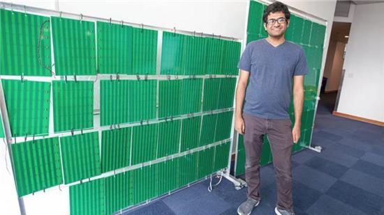 Tường thông minh khuếch đại 10 lần tín hiệu Wi-Fi