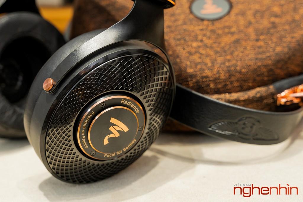 Trên tay Focal Radiance phiên bản Bentley - Headphone hi-end chế tác theo tiêu chuẩn siêu sang ảnh 11