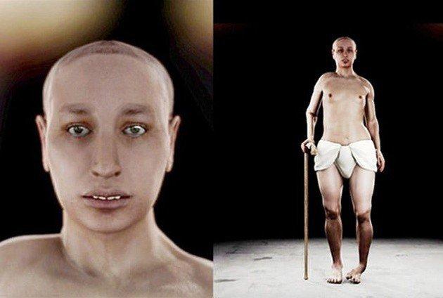 Còn đây mới chính là diện mạo và vóc dáng của vua Tutankhamun.