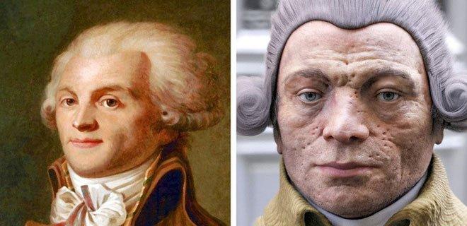 Nhà chính trị gia Maximilien Robespierre