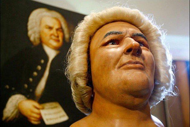 Nghệ sĩ Johann Bach chỉ để lại duy nhất 1 bức chân dung.