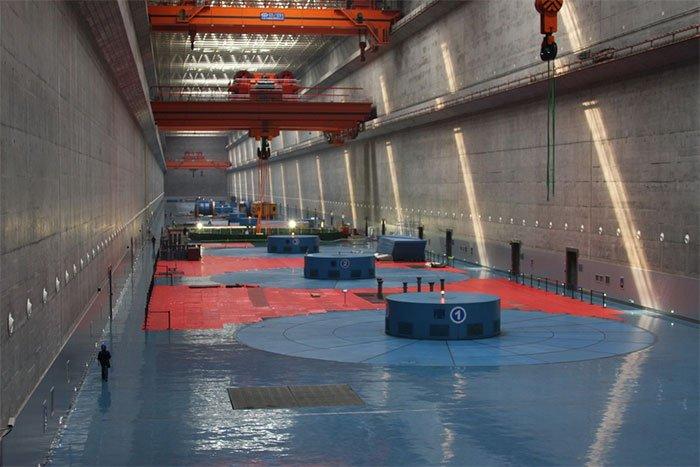 Đập Tam Hiệp cũng là nhà máy thủy điện có công suất lớn nhất thế giới.