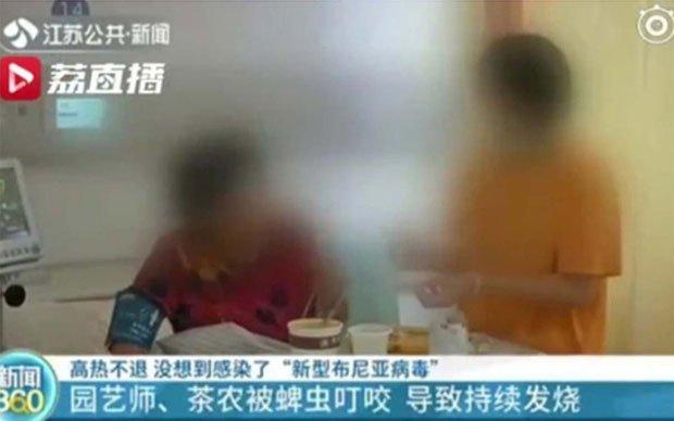 Bệnh nhân nhiễm virus Bunya chủng mới ở Giang Tô.