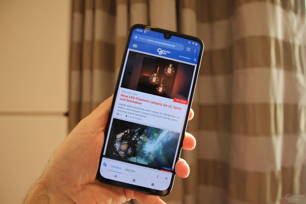 IFA 2019: Motorola One Zoom, camera hầm hố, vân tay dưới màn hình, giá 450 USD ảnh 2