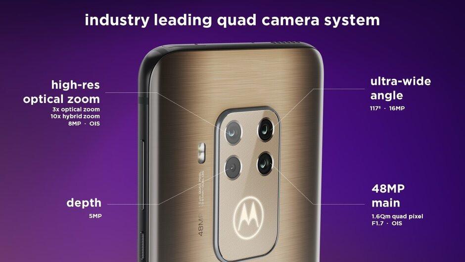 IFA 2019: Motorola One Zoom, camera hầm hố, vân tay dưới màn hình, giá 450 USD ảnh 4