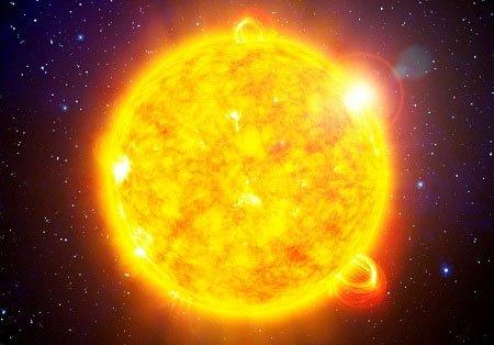 Oxy chỉ chiếm một phần nhỏ trong Mặt trời