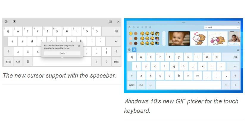 Microsoft phát triển bàn phím cảm ứng mới, nhập liệu bằng giọng nói cho Windows 10 ảnh 2