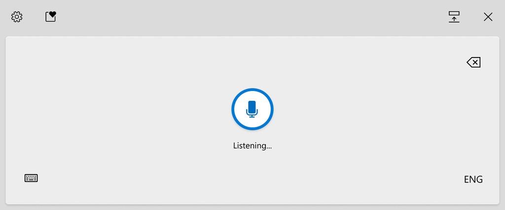 Microsoft phát triển bàn phím cảm ứng mới, nhập liệu bằng giọng nói cho Windows 10 ảnh 3
