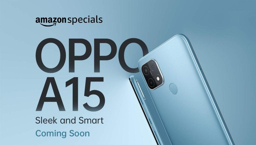 OPPO A15 giá rẻ sắp ra mắt, độc quyền bởi Amazon ảnh 2