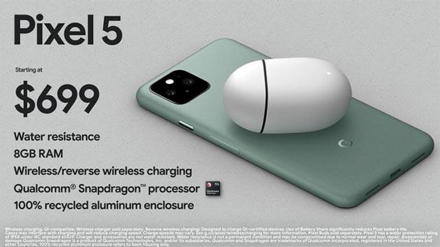 Pixel 5: Smartphone Google chống bụi, chống nước, có loa ẩn dưới màn hình? ảnh 3