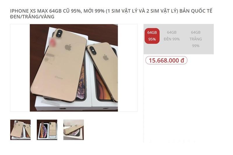 Tham re, nhieu nguoi mac lua tro ban iPhone 1978 o VN