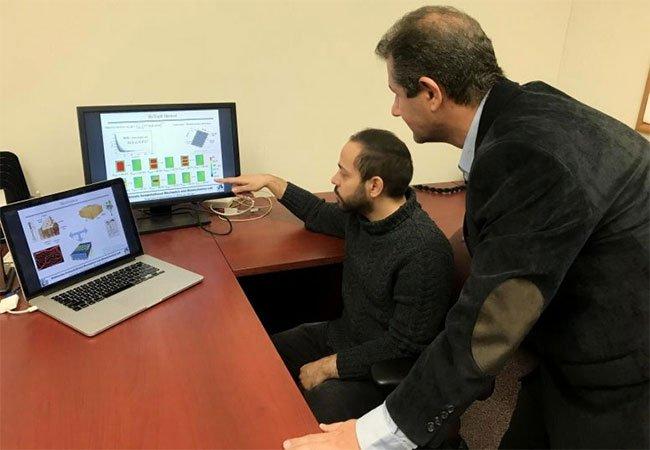 Trong ảnh là Giáo sư, Tiến sĩ Ahmad Najafi và Tiến sĩ Reza Pejman, thuộc Đại học Drexel.