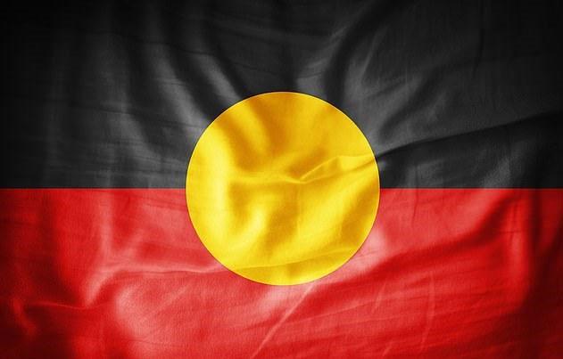 Lá cờ của Thổ dân Australia.