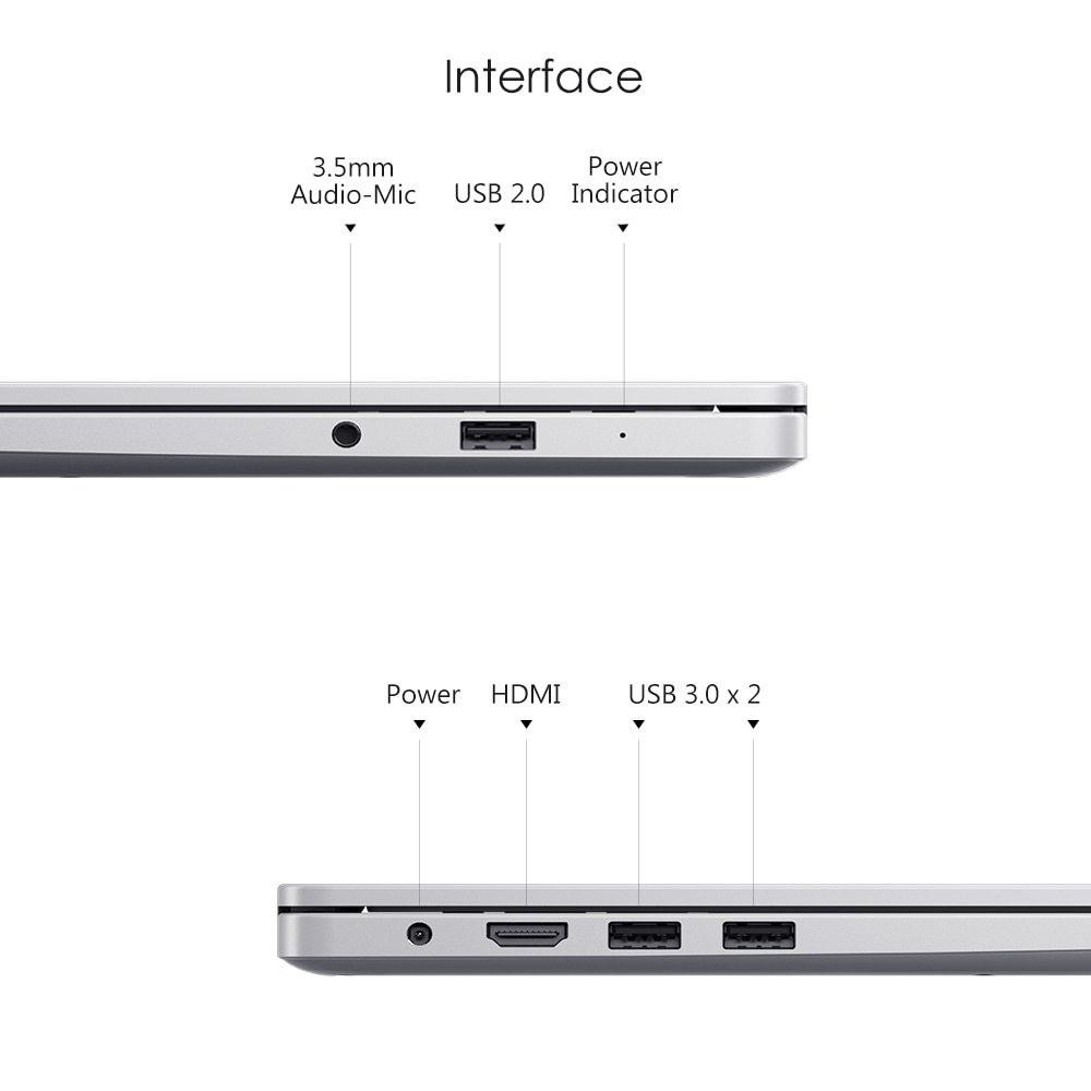 Xiaomi ra mắt RedmiBook 14 chạy chip Ryzen, giá từ 465 USD ảnh 2