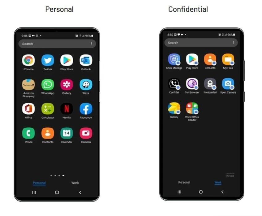 Galaxy S21 phiên bản siêu bảo mật giá 2.650 USD vừa được rao bán ảnh 2