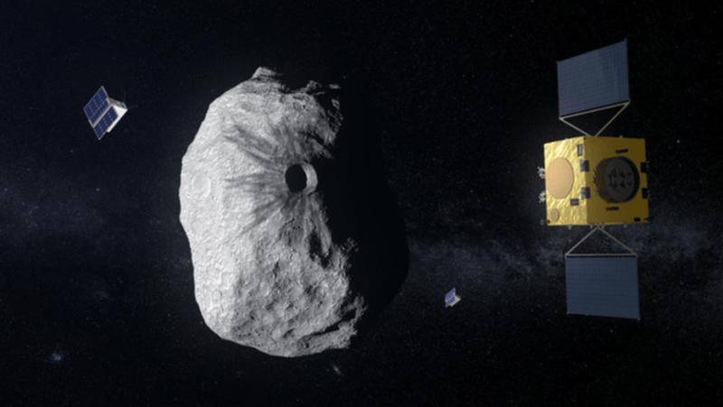NASA len ke hoach tan cong tieu hanh tinh de doa Trai dat
