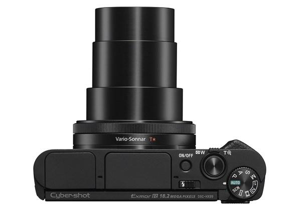 Sony giới thiệu bộ đôi máy ảnh siêu zoom ngoại hình siêu mỏng