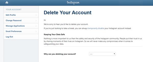 Làm sao để biến mất khỏi mạng xã hội?