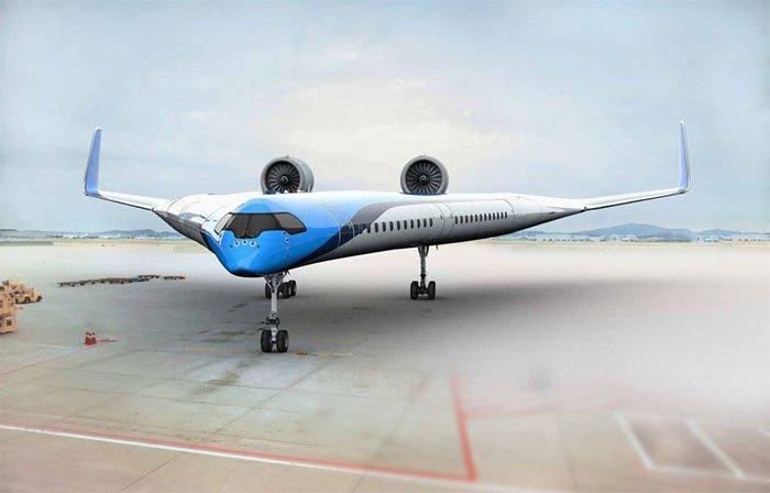 Hình dạng độc đáo của máy bay sẽ giúp giảm tiêu thụ nhiên liệu 20% so với các máy bay hiện nay.