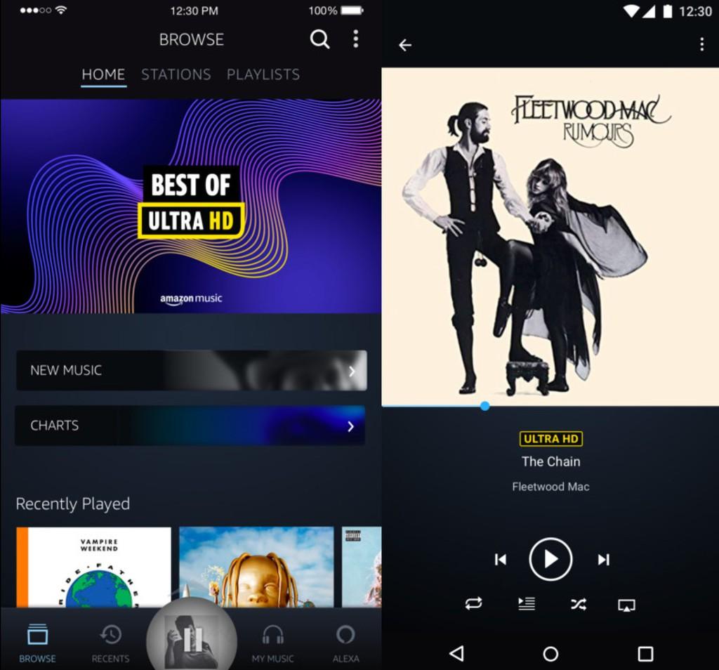 Amazon Music HD tăng tốc, bổ sung 5 triệu track nhạc 192kHz/24bit từ Universal và Warner Music ảnh 1