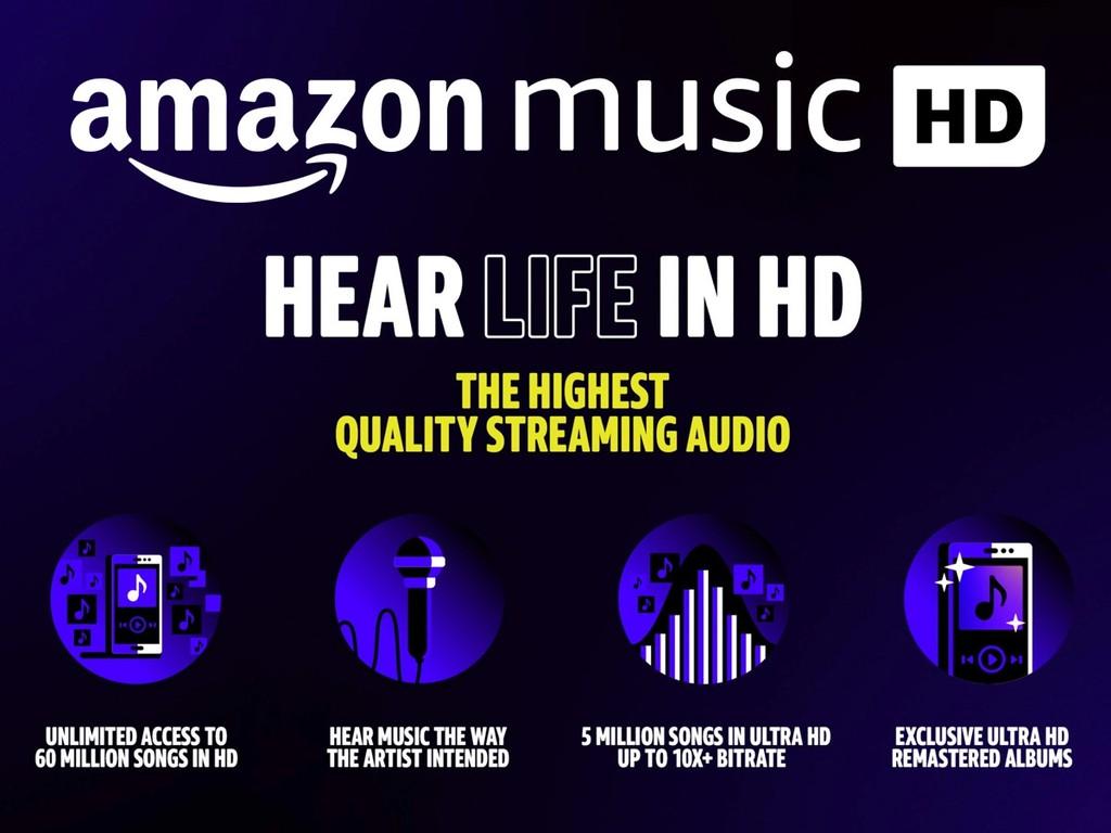 Amazon Music HD tăng tốc, bổ sung 5 triệu track nhạc 192kHz/24bit từ Universal và Warner Music ảnh 2