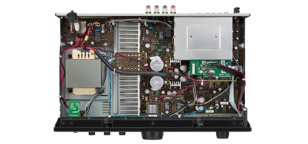 Denon PMA-600NE - Ampli đa năng, khử nhiễu tốt ấn tượng tầm giá 10 triệu đồng ảnh 5