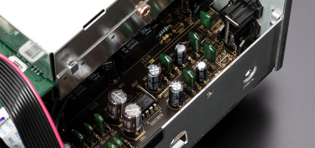 Denon PMA-600NE - Ampli đa năng, khử nhiễu tốt ấn tượng tầm giá 10 triệu đồng ảnh 6