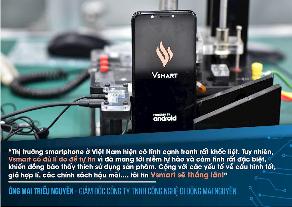 Sếp nhà bán lẻ, chuyên gia, truyền thông ấn tượng gì điện thoại Vsmart?