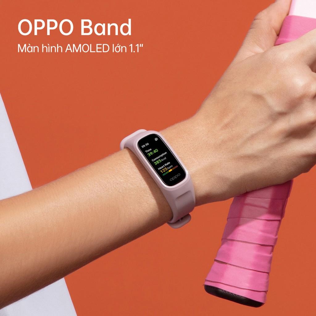 OPPO Band chính thức ra mắt tại Việt Nam theo dõi sức khoẻ SpO2 giá 800.000 đồng  ảnh 8